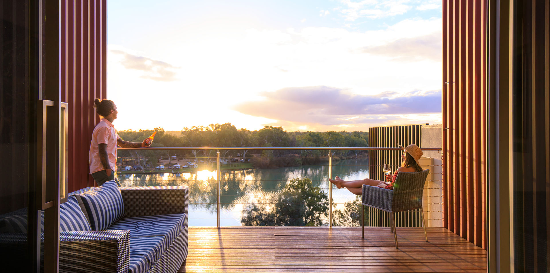 Murray River Luxury Retreat
